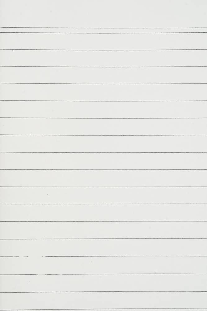 Lined Paper sample - Deborah Bowness